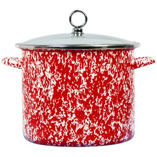 Lewand Steel Stock Pot with Lid