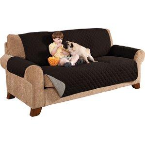 home solutions microfiber sofa slipcover