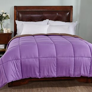 Reversible All Season Down Alternative Quilted Comforter by Alwyn Home