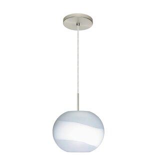 Luna 1-Light Pendant by Besa Lighting