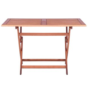 Campbell Folding Wooden Dining Table By Sol 72 Outdoor