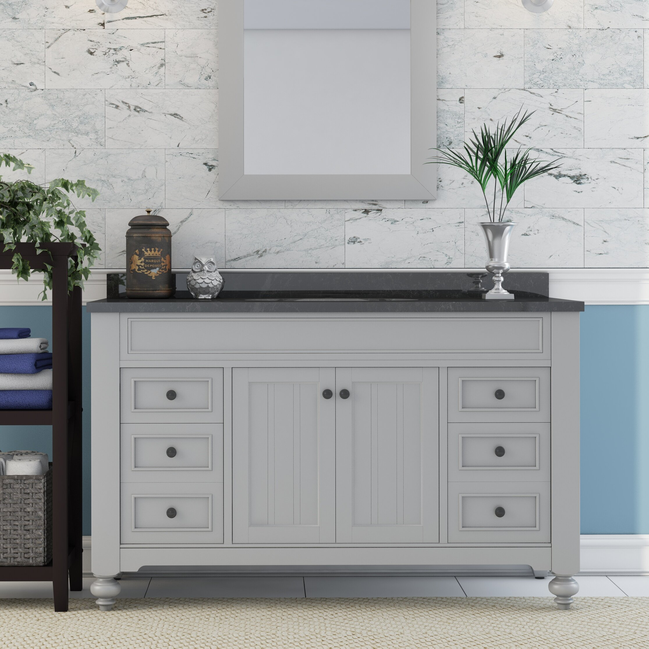 Lark Manor Granberry 48 Single Bathroom Vanity Set Reviews Wayfair