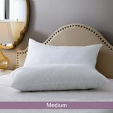 Wayfair Basics Medium Polyester Bed Pillow (Set of 2)