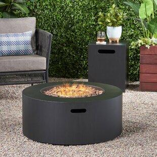 Estelle Iron Propane Fire Pit By Home Loft Concepts