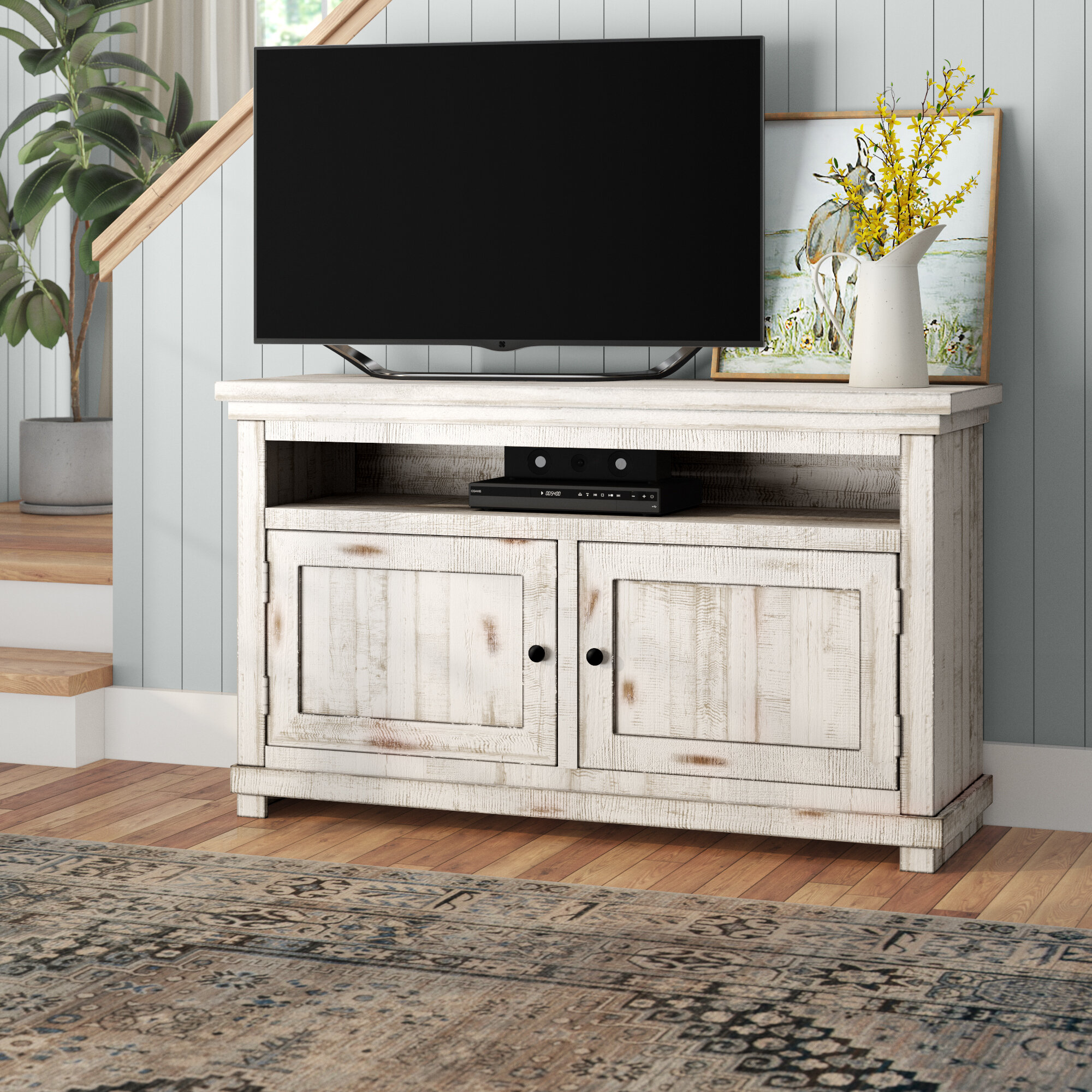 Greyleigh Pineland Tv Stand Reviews Wayfair