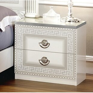 Alexzander 2 Drawer Nightstand