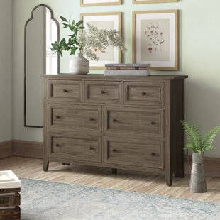 Stoughton 7 Drawer Dresser by Rosecliff Heights