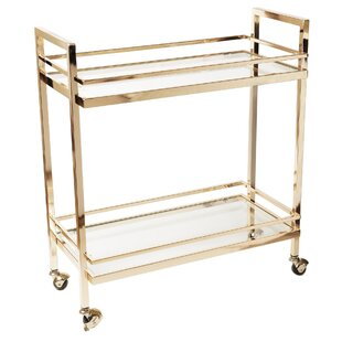 Rolling Bar Cart by Design Guild
