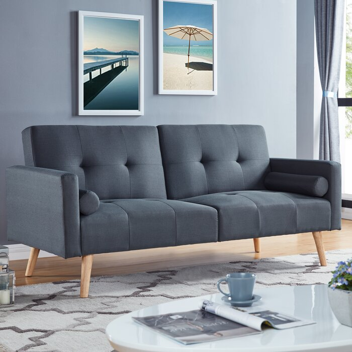 Simmons Futons Montreal Convertible Sofa & Reviews | Wayfair.ca