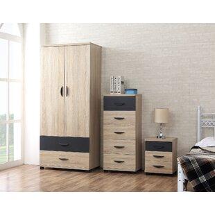 Rupp 3 Piece Bedroom Set By Brayden Studio