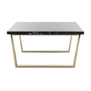 opulent ideas modern side tables. Shaw Coffee Table Modern Brass Tables  AllModern