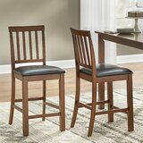 Alyre 25'' Counter Stool (Set of 2) by Red Barrel Studio®