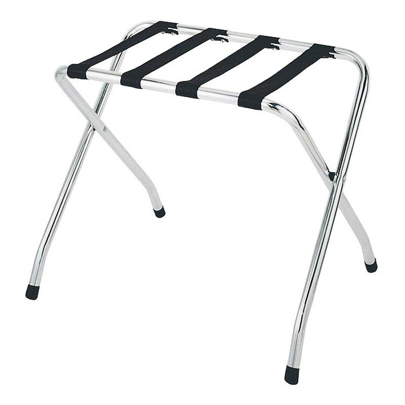 Whitmor Inc Folding Metal Luggage Rack Reviews Wayfair