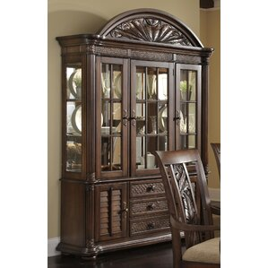 Watson Lighted China Cabinet by Bay Isle ..
