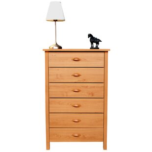 Ashton 6 Drawer Chest by Andover Mills