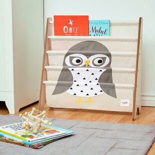 Owl 24 Book Display by 3 Sprouts