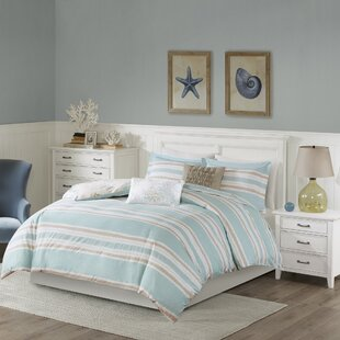 Harbor House Ocean Reef Cotton 5 Piece Reversible Duvet Set
