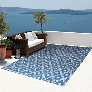 Astrid Navy Indoor/Outdoor Area Rug