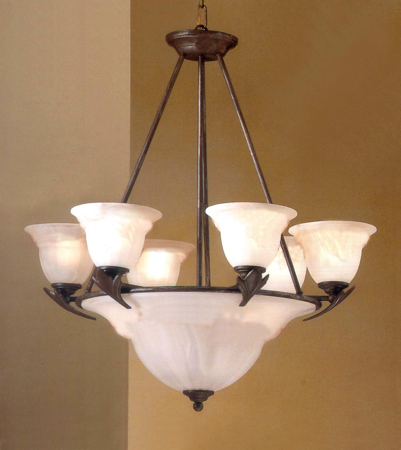Classic Lighting Roma 9 Light Shaded Empire Chandelier Wayfair