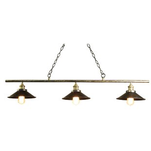 Warehouse of Tiffany Olive 3-Light Pool Table Light