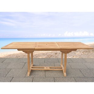 Ponce Solid Wood Dining Table by Willisto..