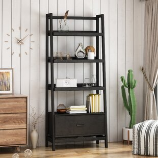 Latitude Run Eliason Etagere Bookcase