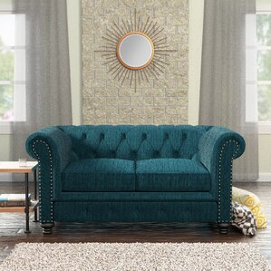 Lindstrom Tufted Chesterfield Loveseat by Da..