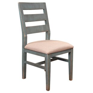 Giovanny Solid Wood Dining Chair (Set of 2)
