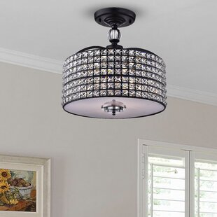 Anay 3-Light Semi Flush Mount by Willa Arlo Interiors