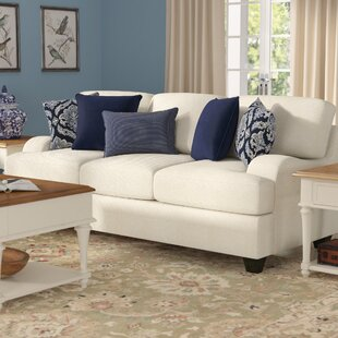 Shop Simmons Upholstery Hattiesburg Stone Sofa by Three Posts