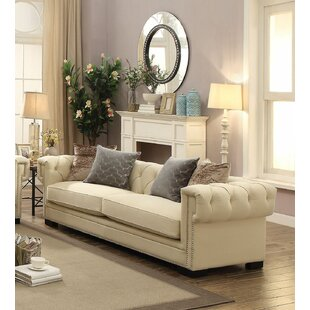 Lummus Button Tufted Sofa