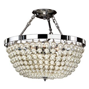 Moscato 6-Light Semi Flush Mount by Glow Lighting