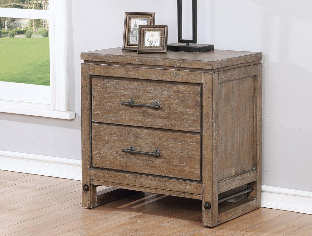 gracie oaks martelli 2 dawer nightstand grcs7568
