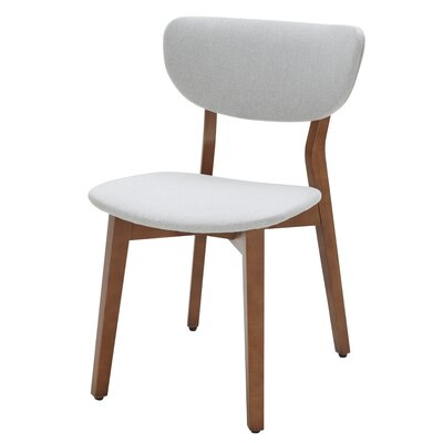 union rustic lasater nubuck upholstered dining chair wayfair