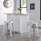Meriden Bar & Counter Stool (Set of 2) by Laurel Foundry Modern Farmhouse