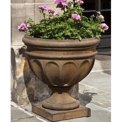 Mahowny Cast Stone Urn Planter Astoria Grand Color: Verde