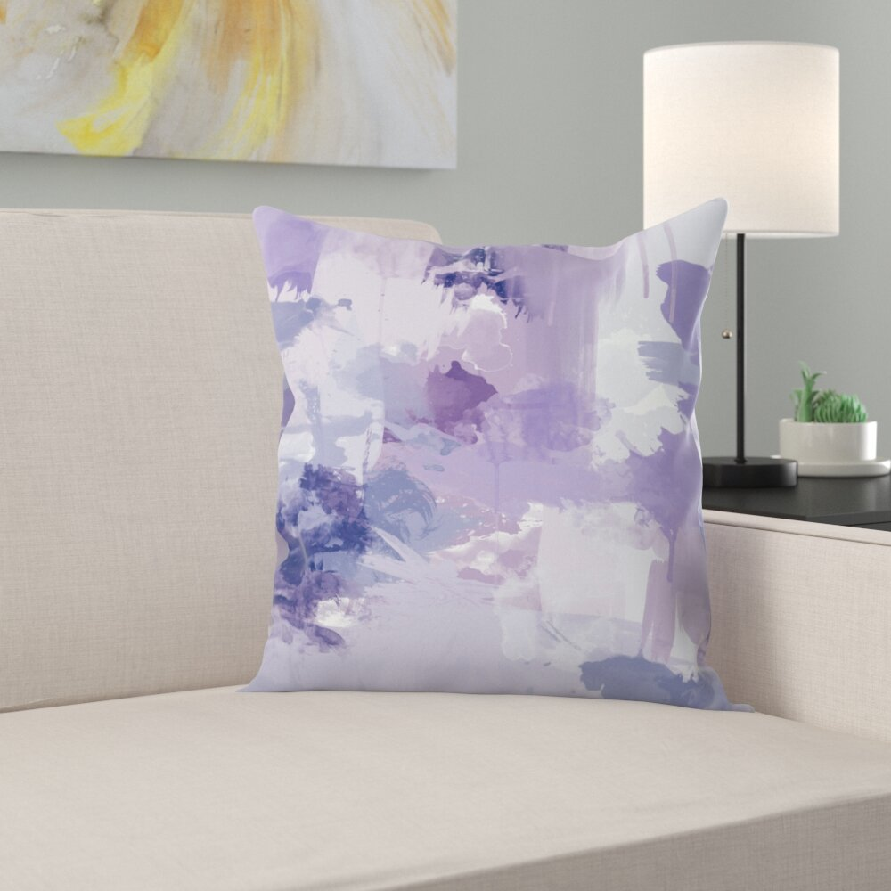 East Urban Home Bomb Pop Purple Throw Pillow Wayfair