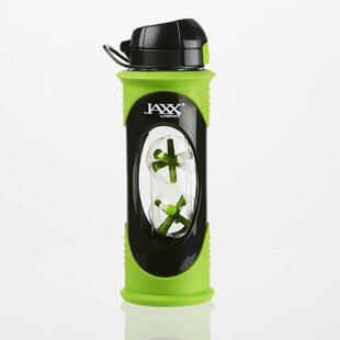 Jaxx Glass Shaker Bottle