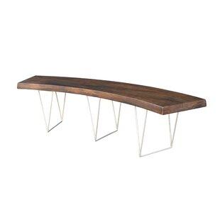 Brayden Studio Louison Wood Bench