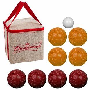 Trademark Global Budweiser Bocce Ball Set