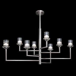 Fine Art Lamps Neuilly 8-Light Shaded Chandelier