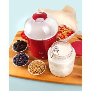 2-qt. Yogurt and Greek Yogurt Maker with Glass Jar