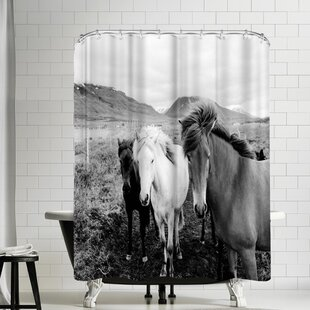 Nauda Farm Horse Shower Curtain