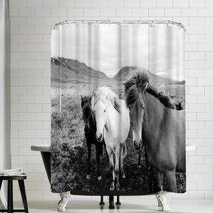 Nauda Farm Horse Shower Curtain
