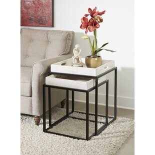 Austyn Tray Top C Nesting Table (Set Of 2) By Foundry Select