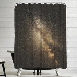 Luke Gram Milky Way Single Shower Curtain