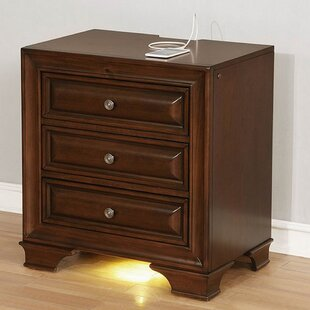 Albertville 3 Drawer Nightstand by Darby Home Co