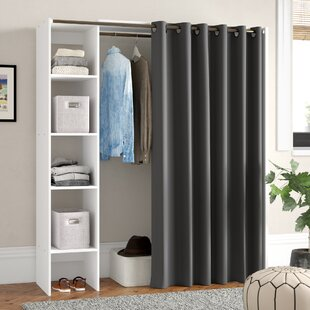 Check Price 160cm Wide Clothes Storage System