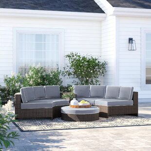 Bermuda 6 Piece Sectional Set with Cushions by Sol 72 Outdoor