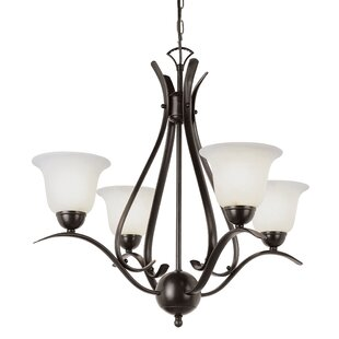 Shopping for Lansford 4-Light Shaded Chandelier By Alcott Hill